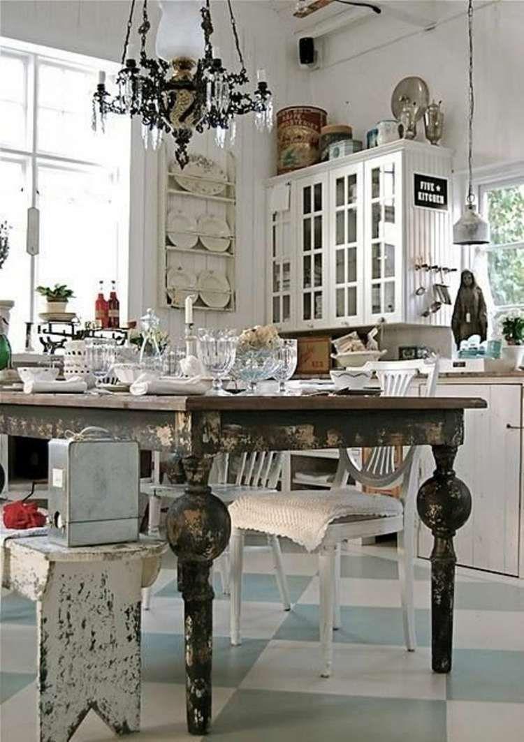 Photo of Kitchen renovation: decorating an elegant shabby chic kitchen – new