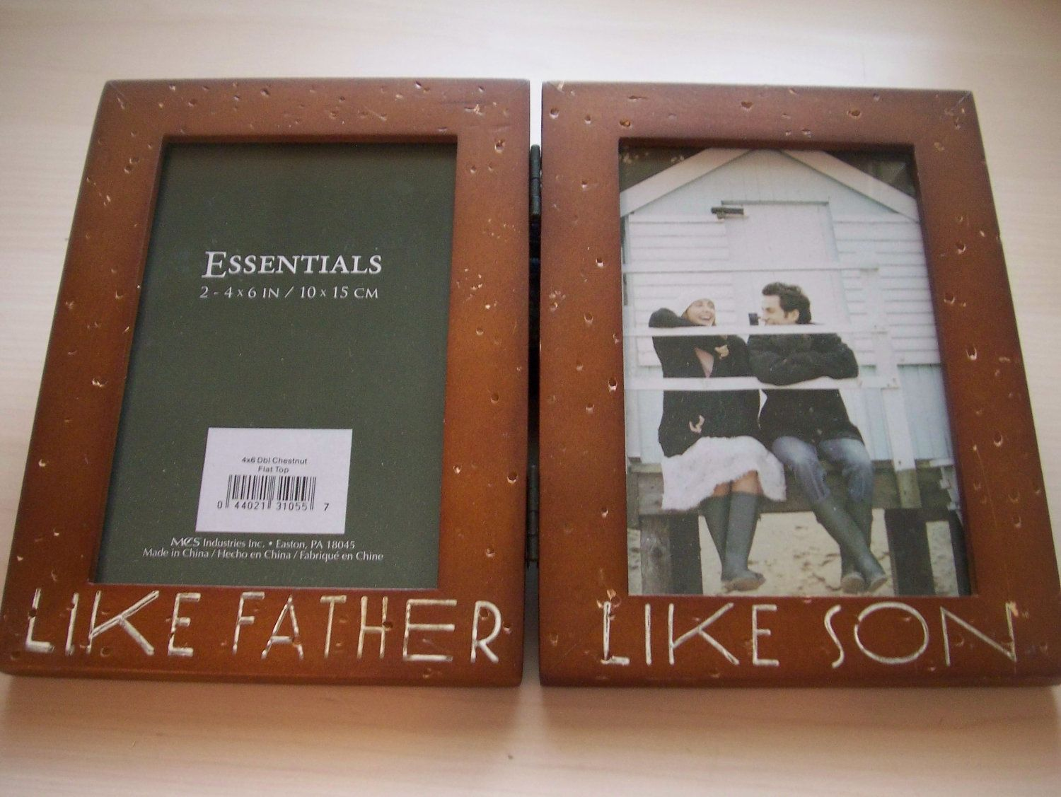 Get Here Like Father Like Son Picture Frames