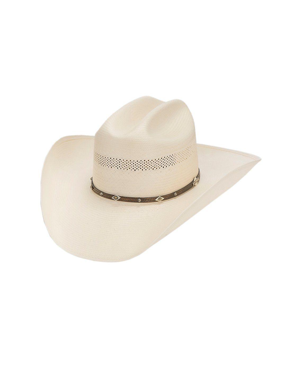 3f9ea60b36c Stetson 10X Lobo Vent Ivory Straw Cowboy Hat