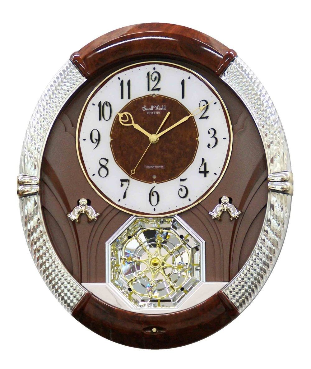 Rhythm Small World Joyful Moment Musical Motion Clock Rhythm Clocks Clock How To Make Wall Clock
