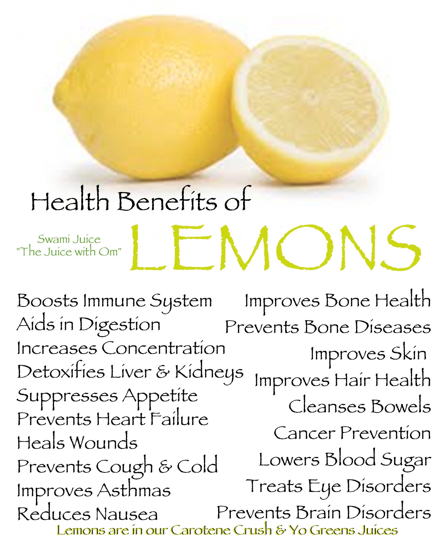 Lemon Benefits Lemon Health Benefits Fruit Health Benefits