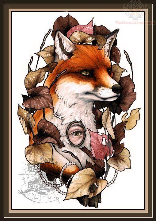 celtic fox art - Google Search | tattoo | Pinterest | Fox ...