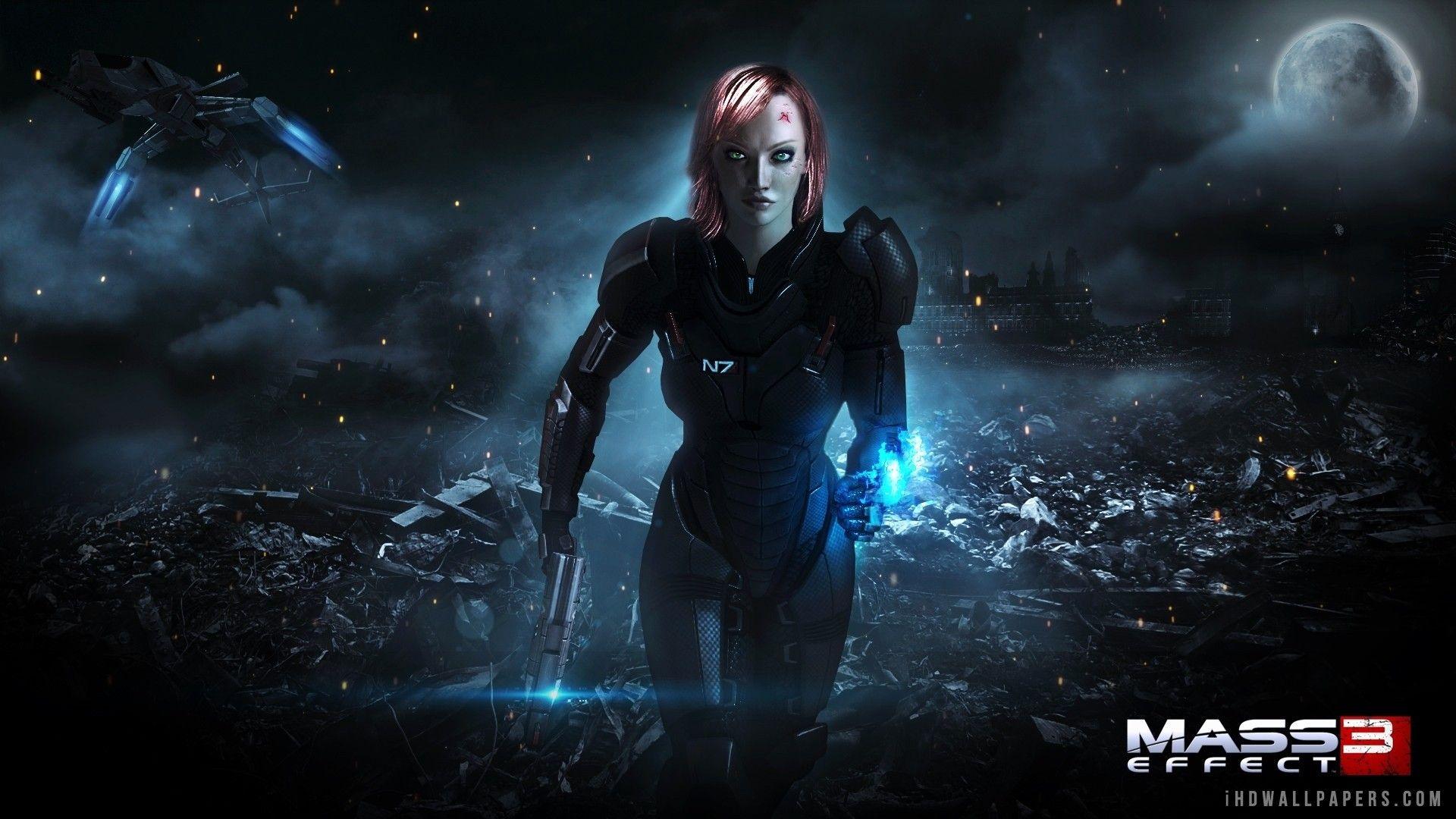Beautiful Mass Effect 3 Iphone Wallpaper