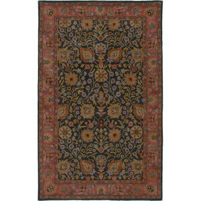Rizzy Rugs Bentley Navy Gold Persian Rug Rugs Area Rugs Traditional Persian Rugs