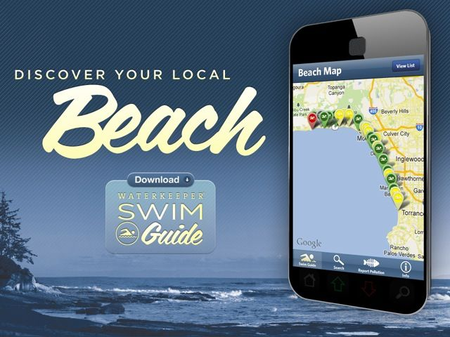 If you're looking for a beach this summer check out this app! Swim Guide: Download (beta)