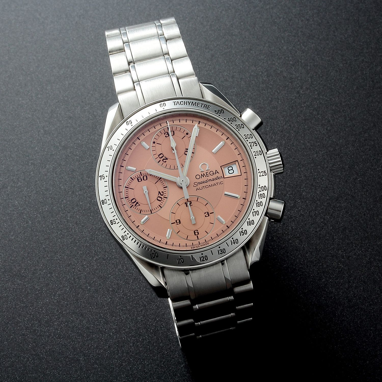 Omega Speedmaster Special Dial Date Automatic 32102 Tm074 C 2000 S Pre Owned Omega Speedmaster Omega Omega Watch