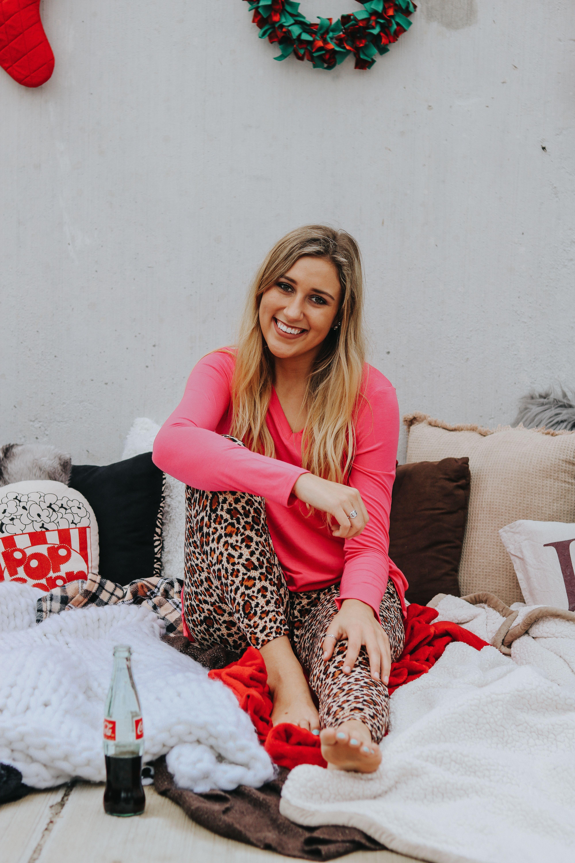@sassafrasbg pajama set- christmas pajamas- swan pajamas ...
