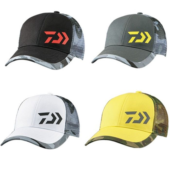 c5c66c5a5ae3c 2017 NEW DAIWA Fishing cap summer Breathable Mesh Anti-UV DC-7007 Sunscreen  Anti mosquito man DAWA hat sun DAIWAS Free shipping free shipping worldwide