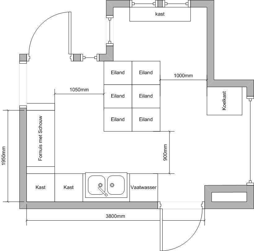 Technische tekening keuken google zoeken ontwerp for 3d keuken tekenprogramma