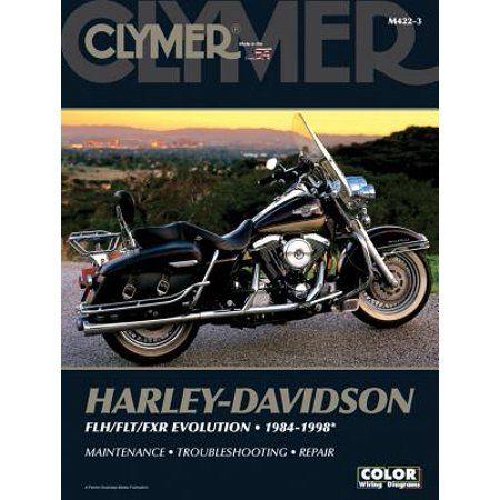 harley-davidson flh/flt/fxr evolution 1984-1998
