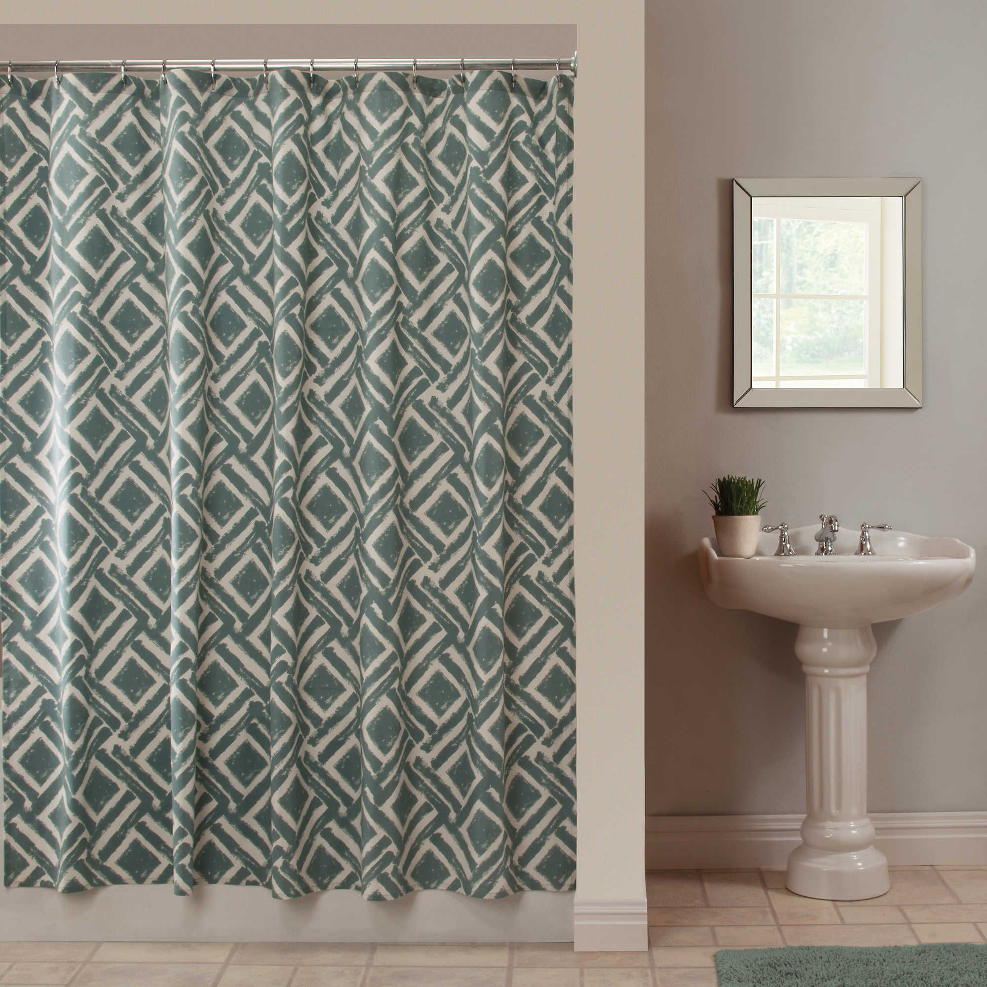 curtain awesome fresh hookless curtains weave waffle inch cotton x bathroom stall shower of