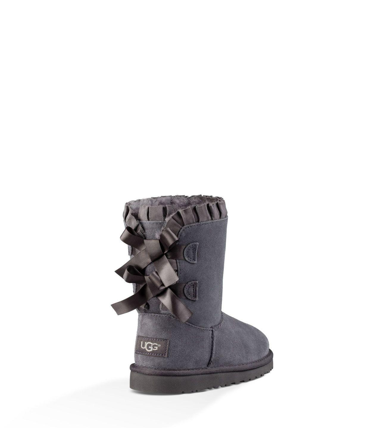 7e17f1439ca UGG® Official | Girls' Bailey Bow Ruffles Sheepskin Boots | UGG.com ...
