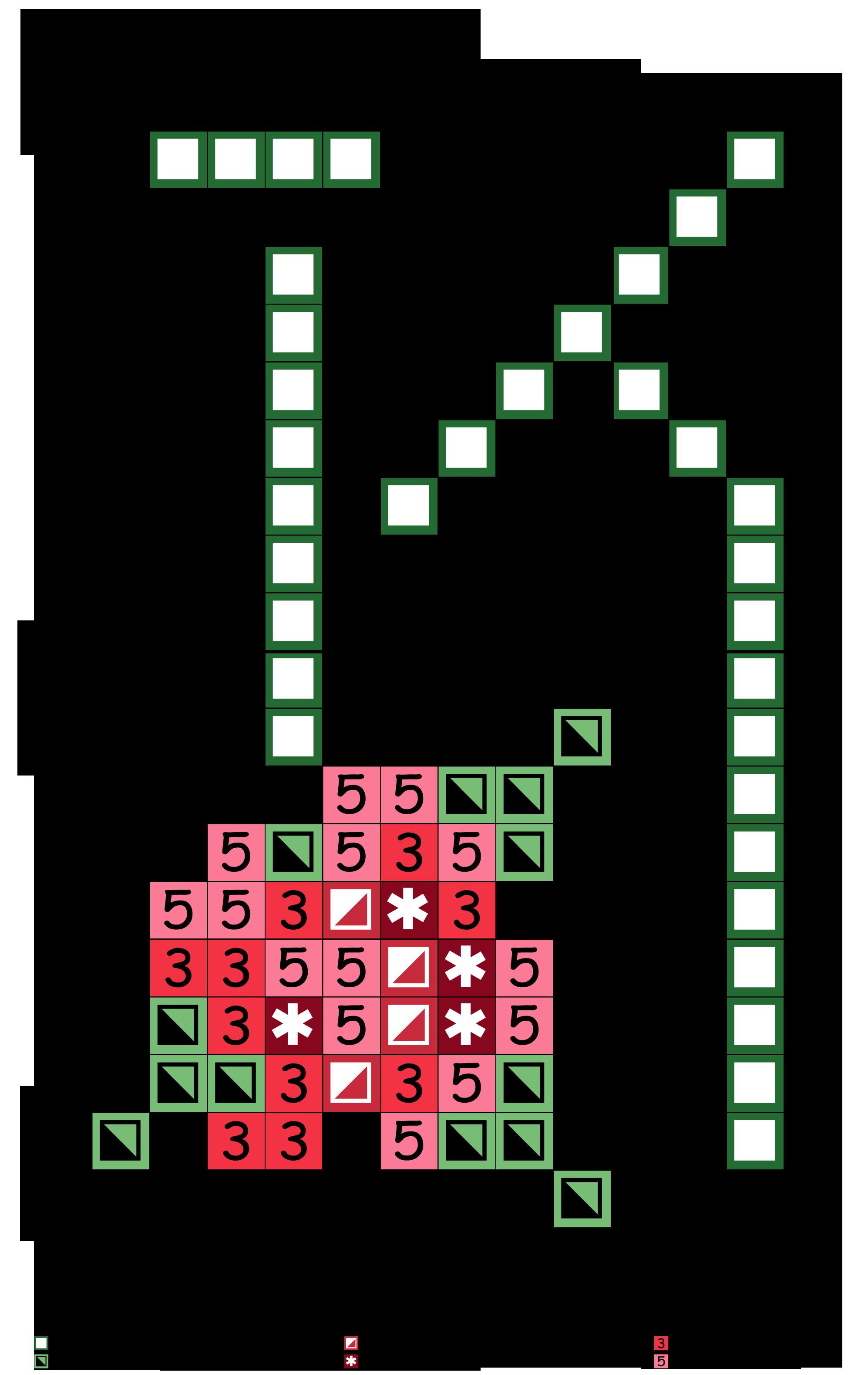 Fiori K.Alfabeto Verde Con Fiori K Cross Stitch Alphabet Stitch