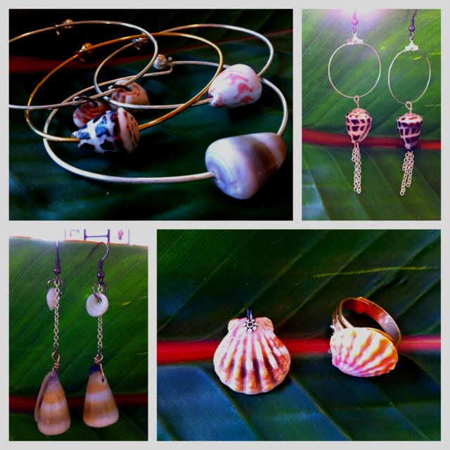 Hanna's Hawaiian shells jewelry