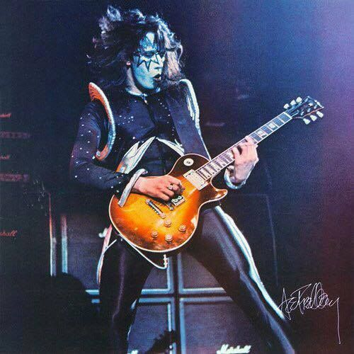 Pin By Johnny J On Kiss Ace Frehley Guitar Kiss Army