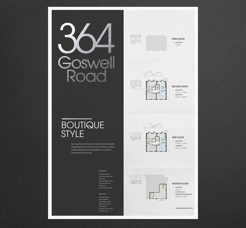 Phage  Luxury Property Brochure  Brochure Folds