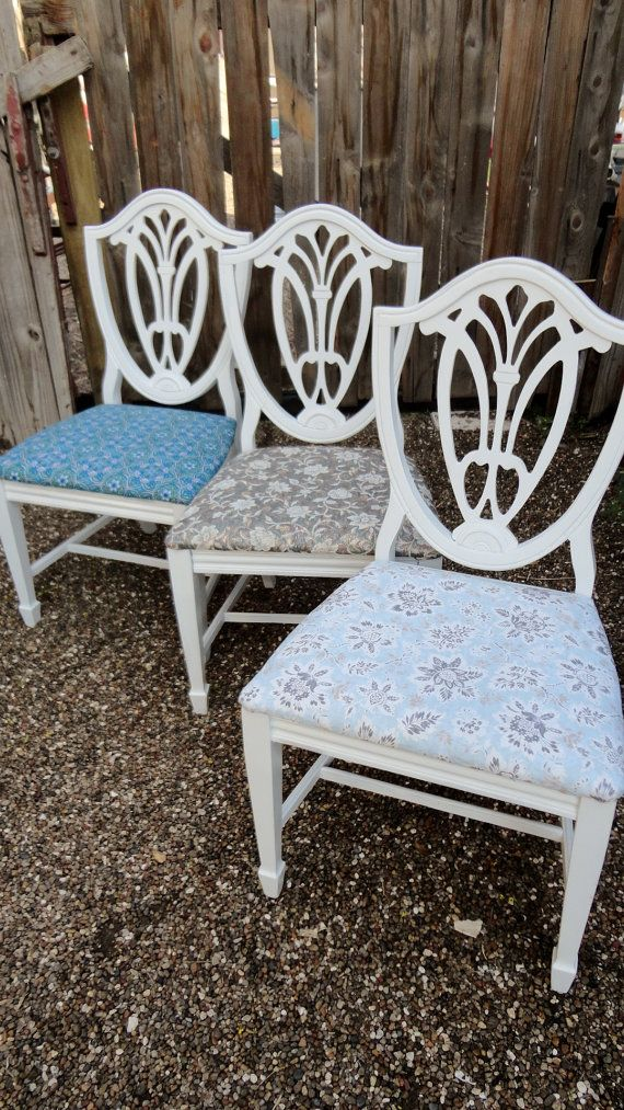 Duncan Phyfe Shield Back Dining Chairs By Perfectlygoodstuff