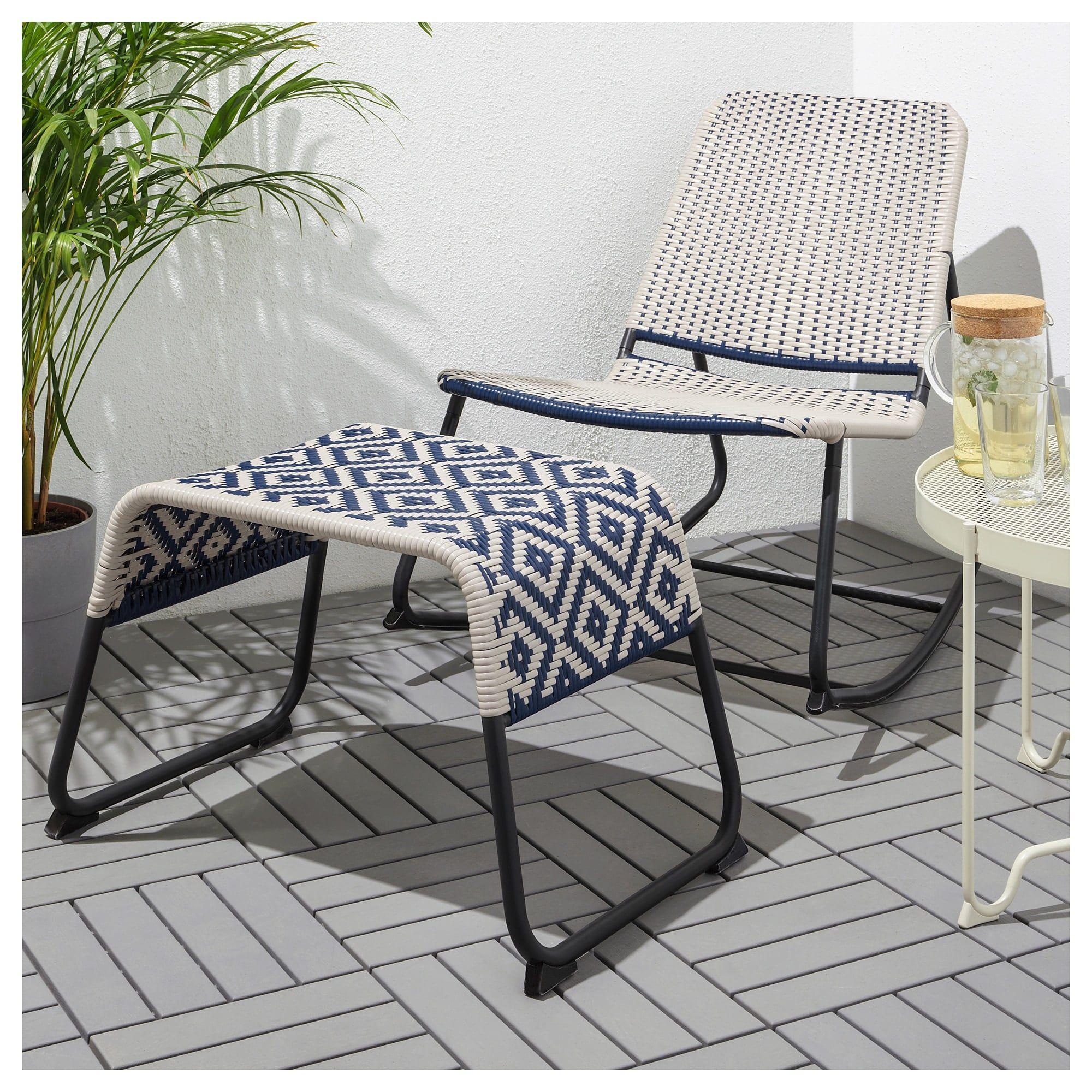 Överallt Footstool Ikea outdoor, Used outdoor furniture