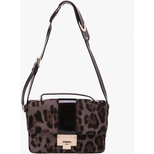 Pre-owned Jimmy Choo Pony Rebel Quartz Cross Body Bag ($613) ❤ liked on Polyvore featuring bags, handbags, shoulder bags, animal print, animal print handbags, pre owned purses, crossbody handbags, jimmy choo purses and crossbody purse