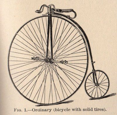 Penny Farthing - Penny Farthing Bicycle - Free Transparent PNG Clipart  Images Download