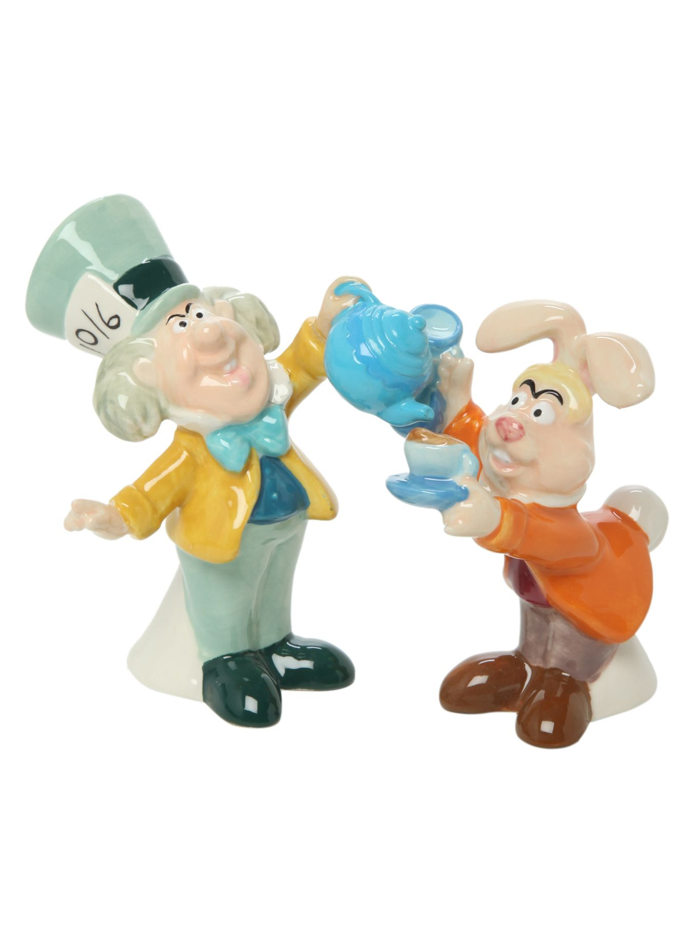 Mad Hatter and March Hare magnetic salt & pepper shakers ...