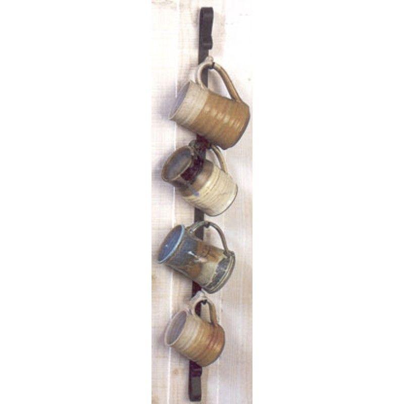 Wall Mounted Mug Rack - Vertical - Wall Mounted Mug Rack - Vertical Kitchen Decor & Remodel Ideas