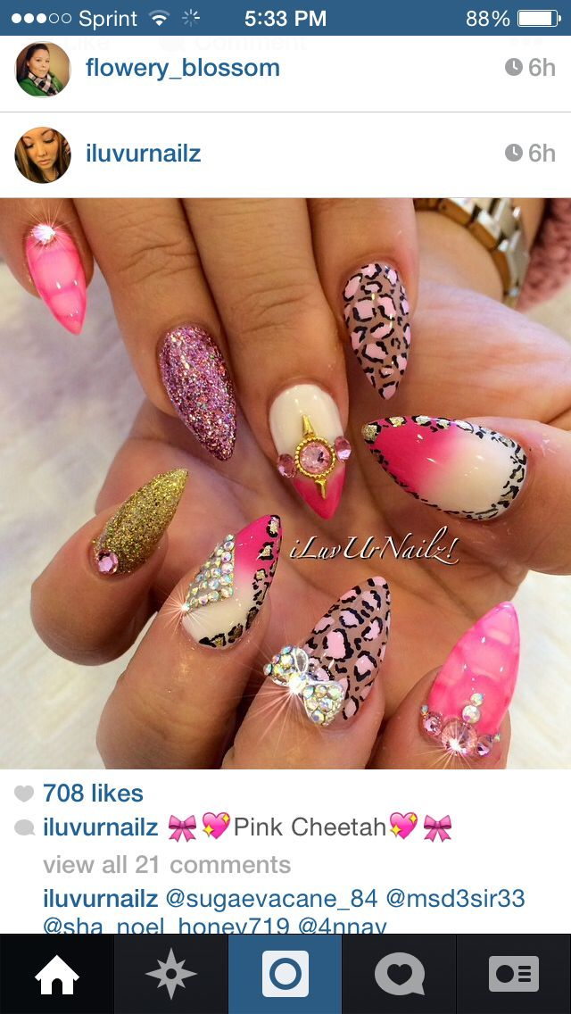 Pin By Stalinda Pickup Bracken On Nails Glamorous Nails
