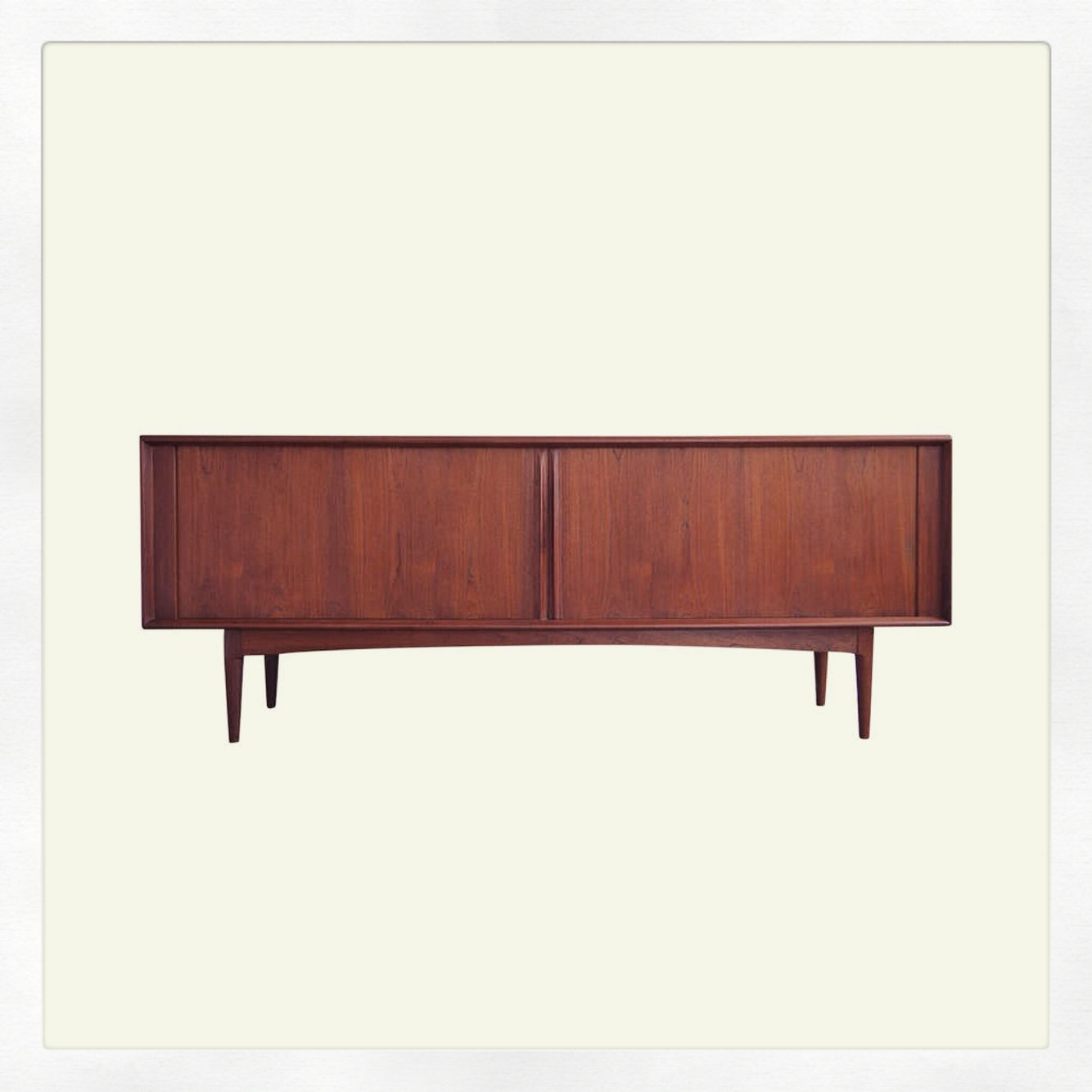 Vintage Sideboard Sliding Doors Vintage Bernhard Pedersen And Son Credenza This Beautiful