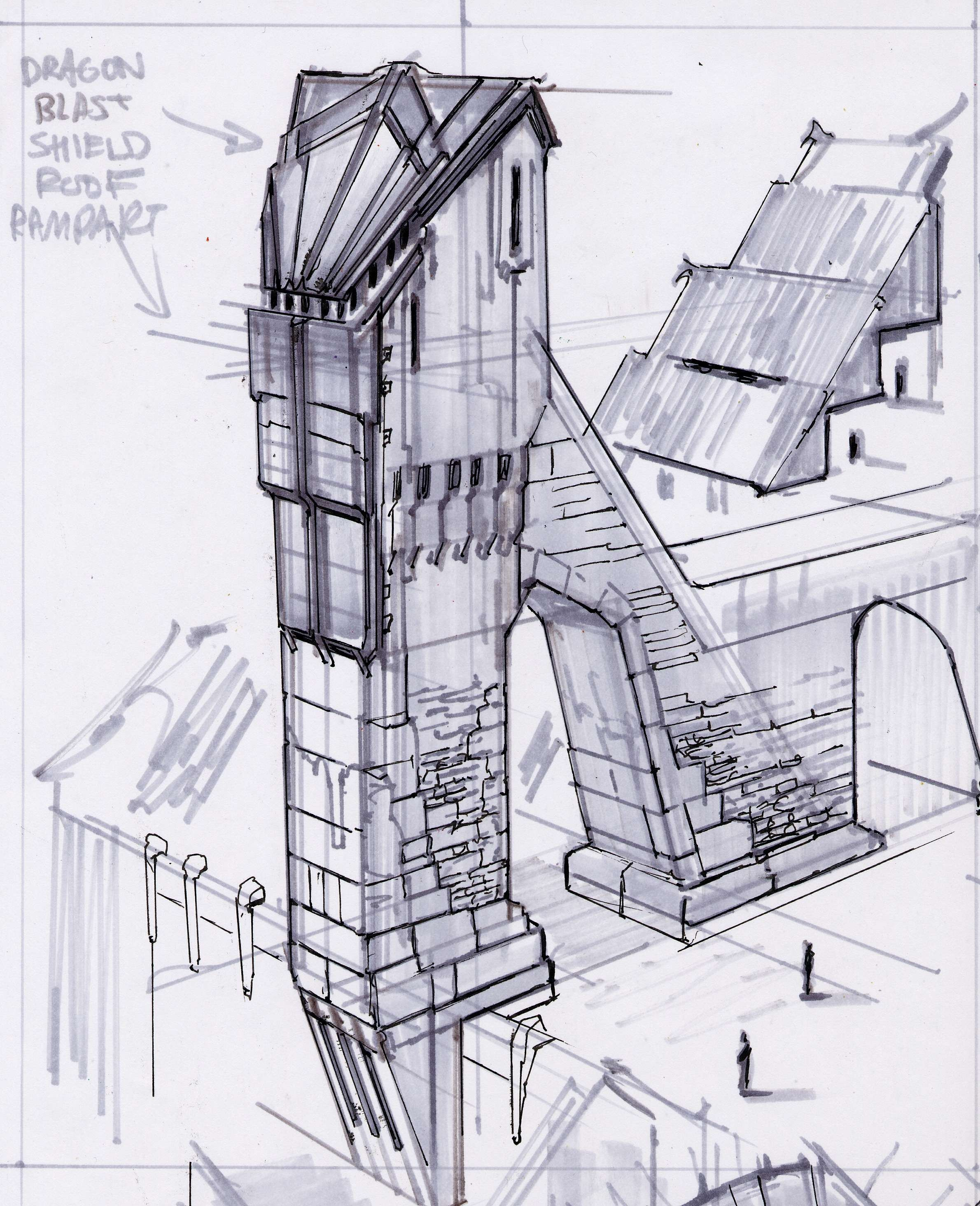 architecture concepts | skyrim is our call | pinterest