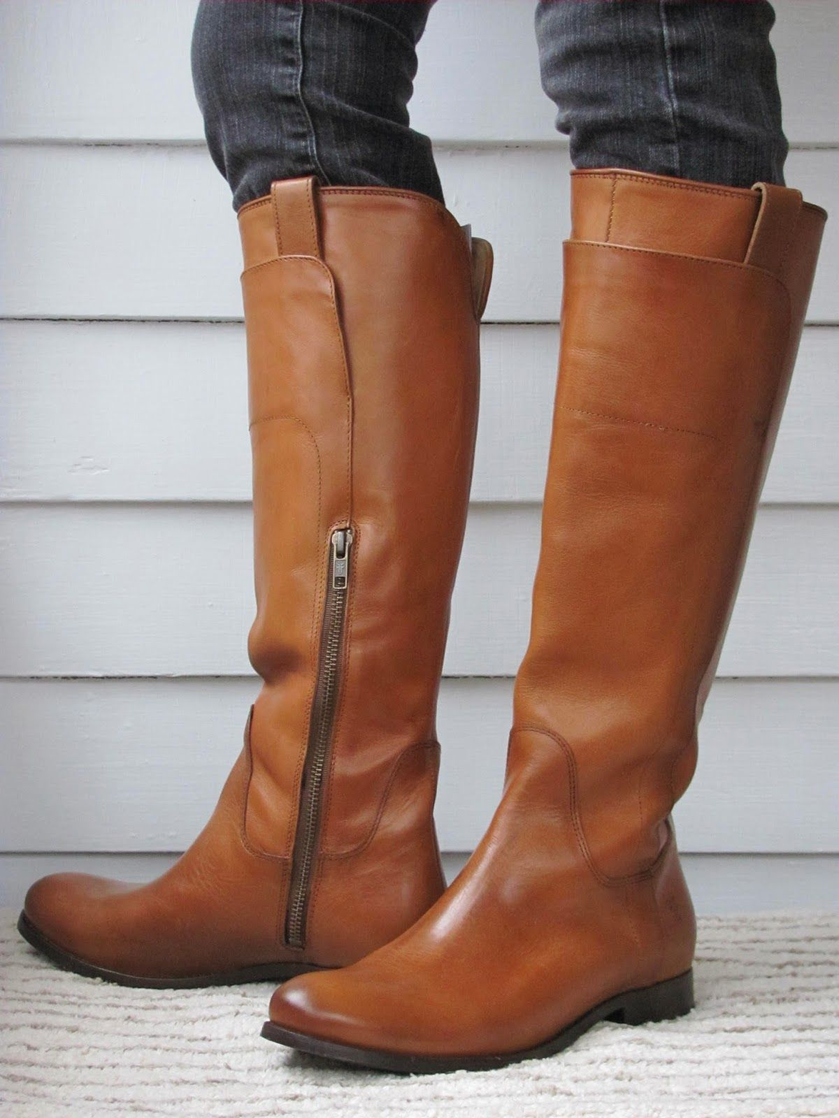 Riding Boots for Thin Calves: Frye Melissa Tall Riding
