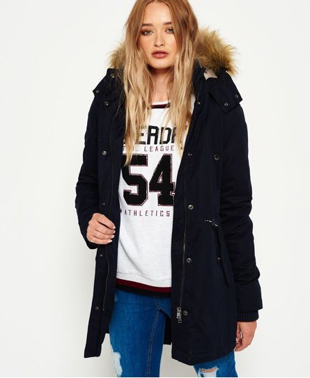 Superdry New Model Microfibre Parka Jacket | Superdry