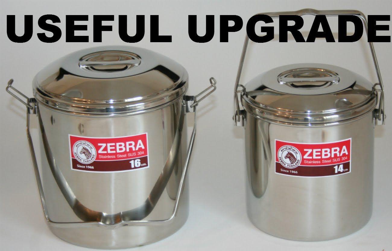 Upgrade The Zebra Loop Handle Pot