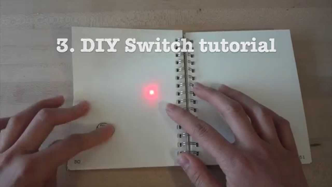 Circuit Stickers tutorial 3: DIY paper switchTutorial page: http ...