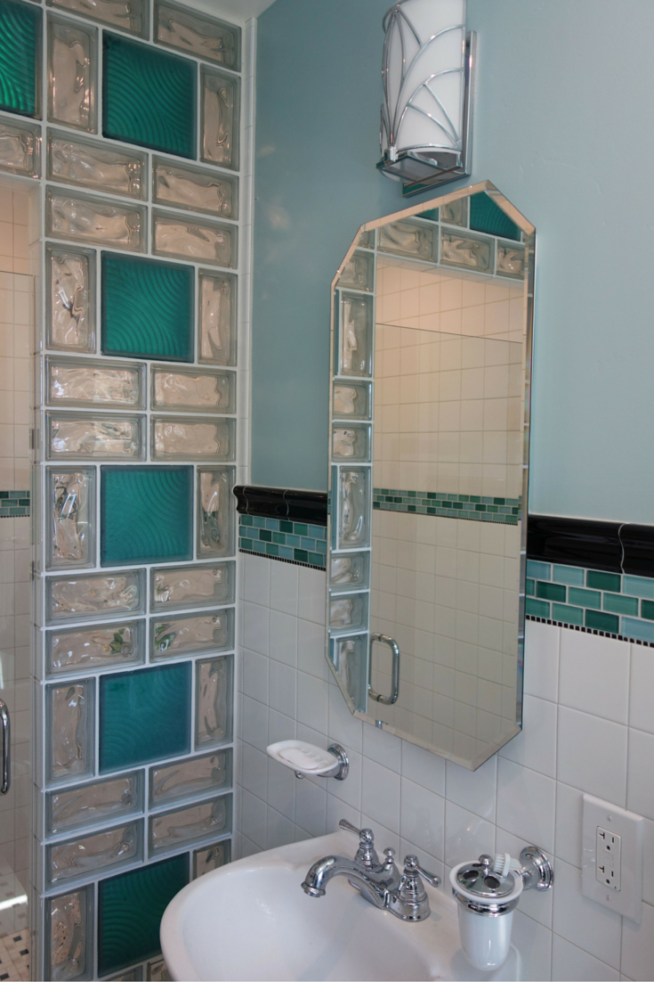 glass blocks are not dead 5 ways a classic material has evolved - Bathroom Designs Using Glass Blocks