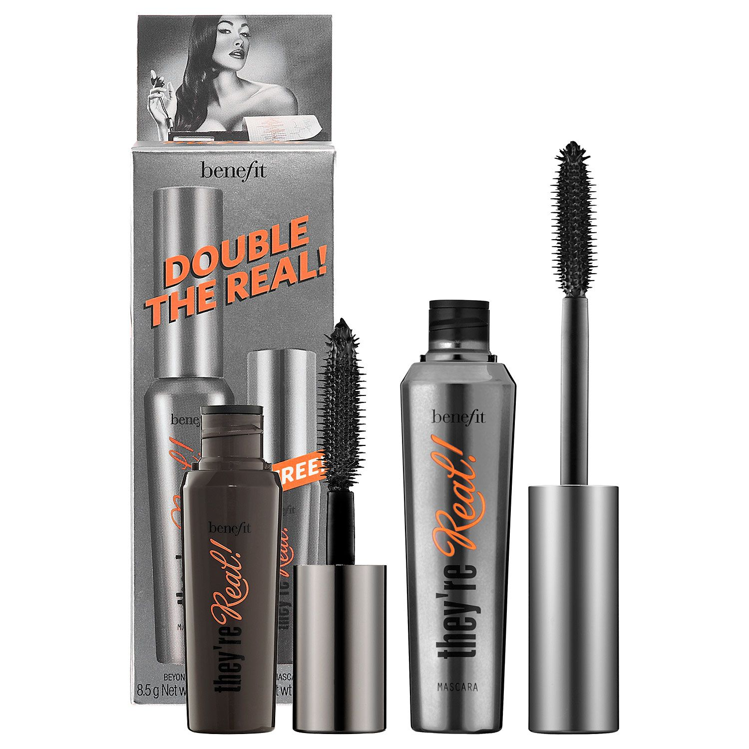 New at Sephora Benefit Double They're Real! A mascara