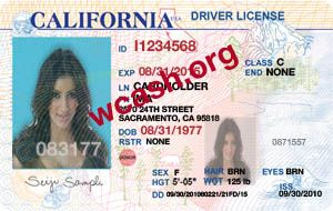 Template California Driver License V3 Psd This Is Template