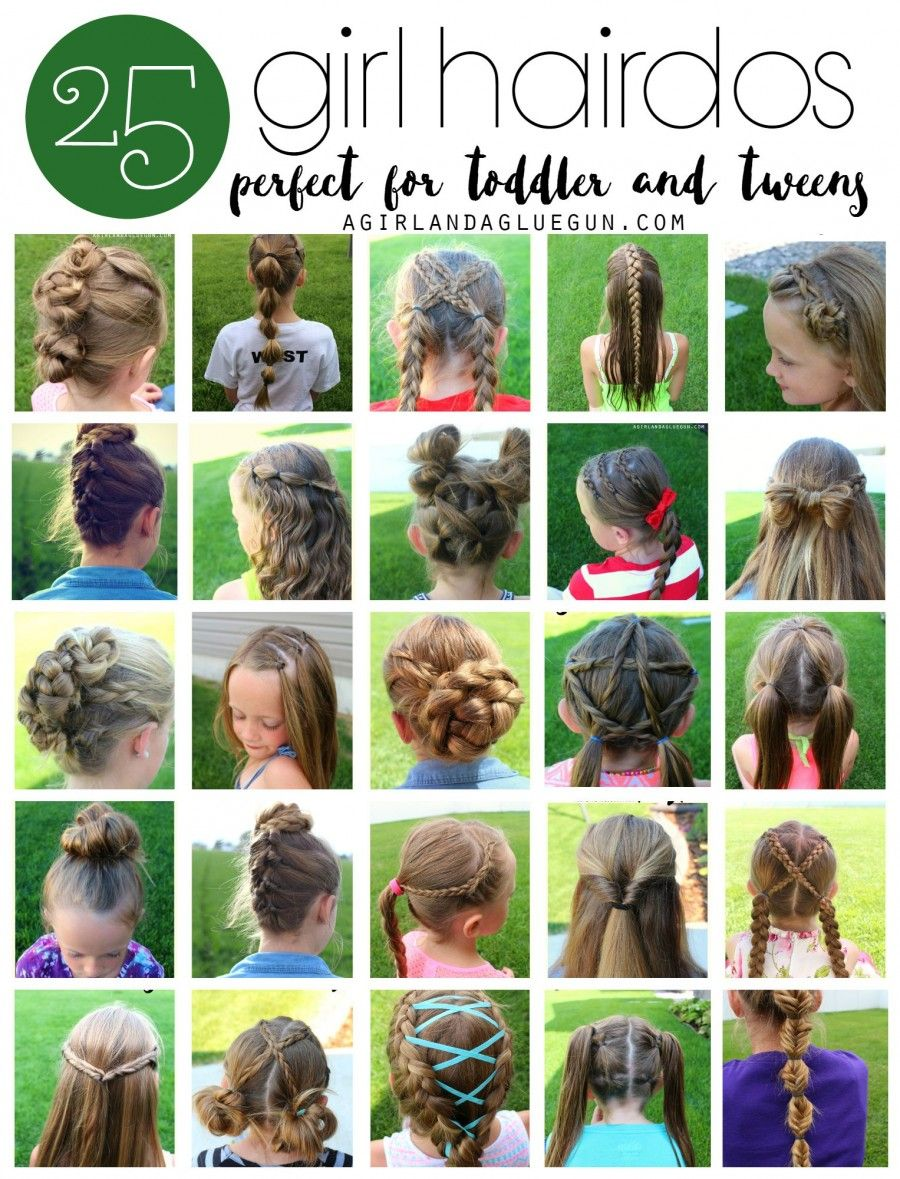 girl hair styles for toddlers and tweens easy hair hair style
