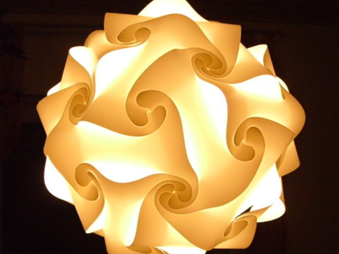 Jigsaw Puzzle Lamp Shade By Stoof Lampshade Designs Lamp Lamp Shade