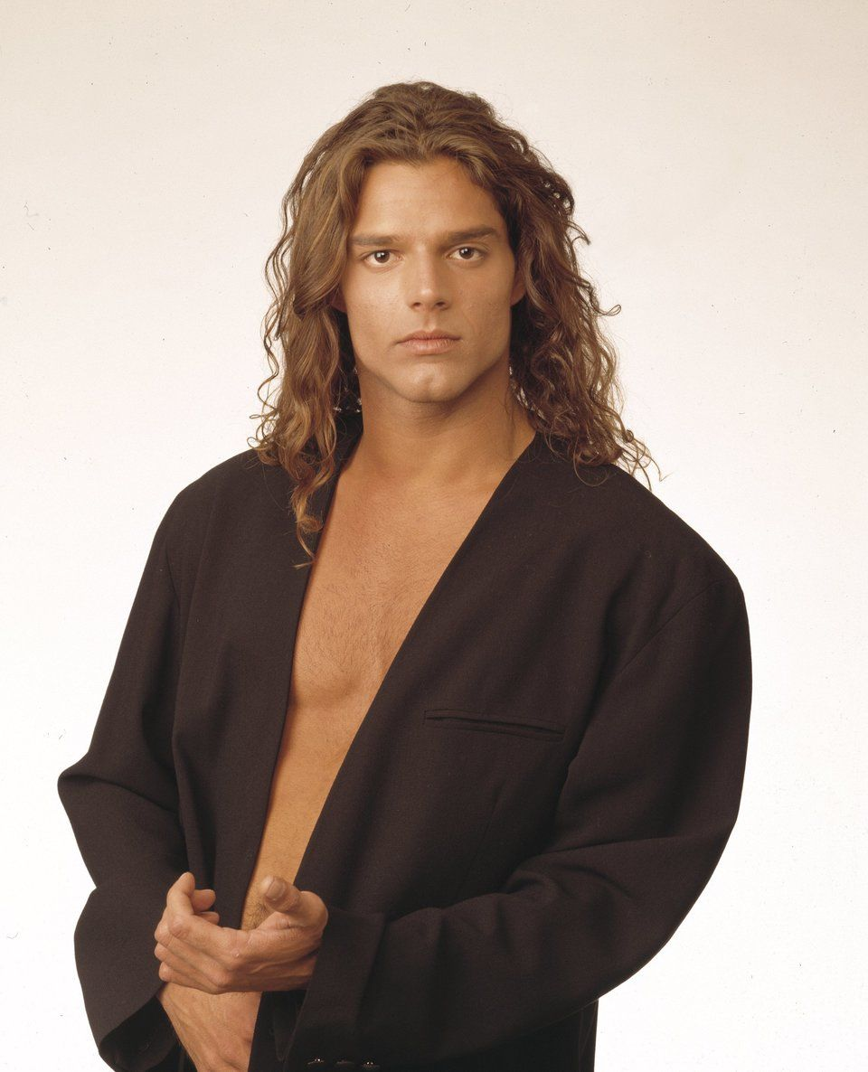 Ricky Martin In General Hospital A Look Back At The Star S Soap Opera Years Photos Video Huffpost Ricky Martin General Hospital Long Hair Styles