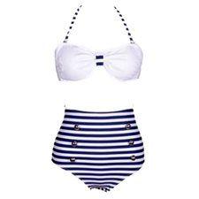 640381d293 Bikini Marinière Toslann 36,00€ | Bikini Couleur Waooh Collection ...