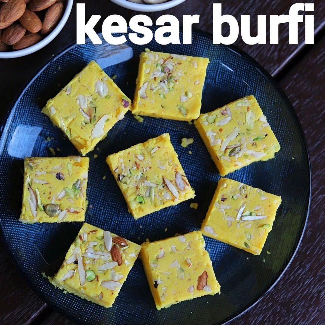 Hebbar S Kitchen On Instagram Kesar Barfi Recipe Festival