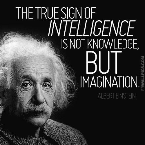 Albert Einstein Quotes Logic Imagination Image Quotes At