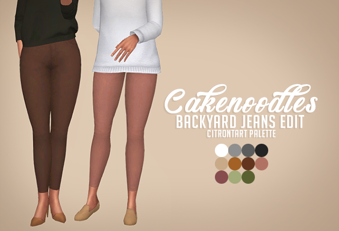 Lana CC Finds - cakenoodles: There's never enough jeans, so