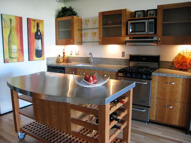 Captivating Stainless Steel Kitchen Island Countertop Idea Idea