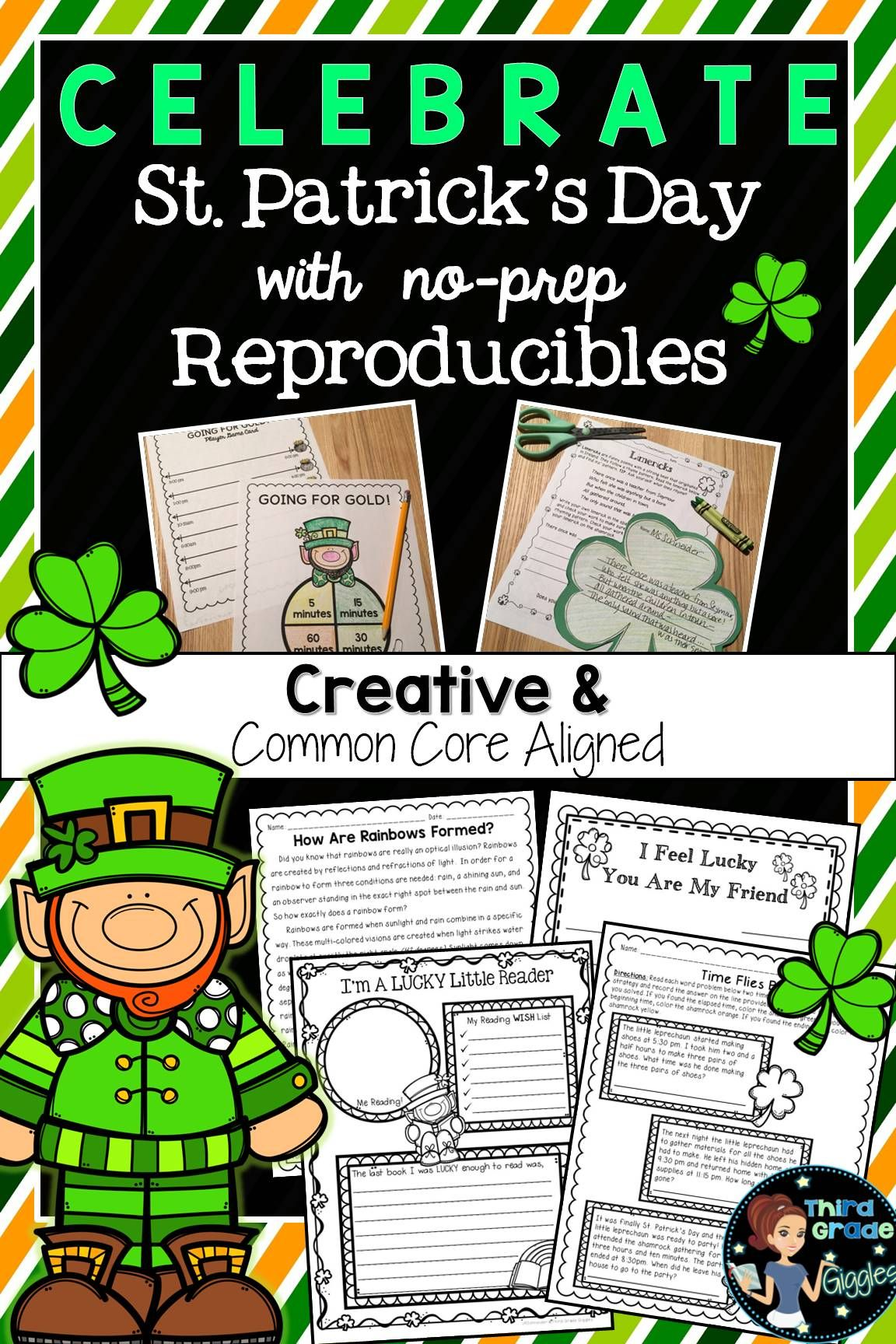 St Patrick S Day Reading Activities