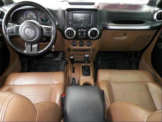 Jeep Rubicon Brown Leather Interior Jeep Wrangler Interior 2014