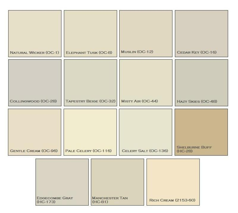 Natural Paint Colors paint: one of the most important home staging tools | den neutrals