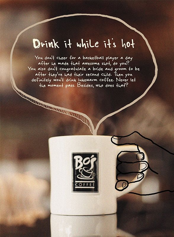 The Coffee Book | Bo's Coffee by James Shanahben De Castro, via Behance