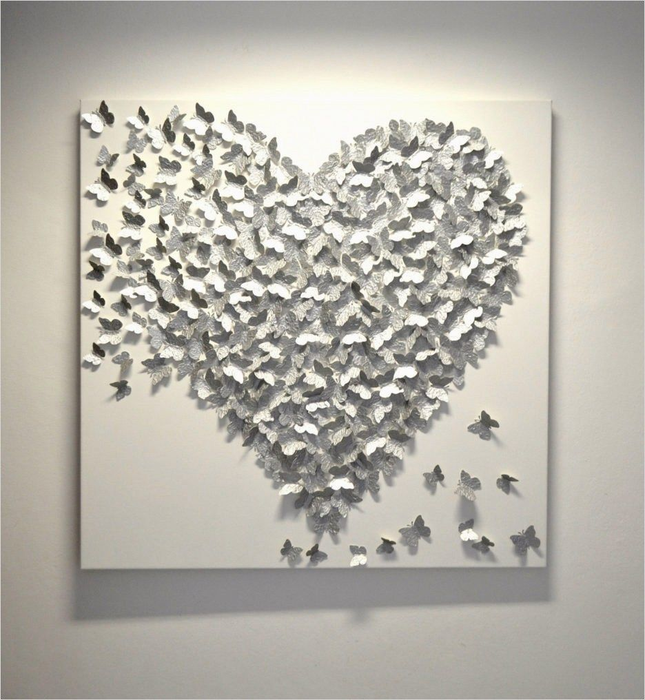 craft wall decoration ideas 12 - DecoRewarding  Silver wall art