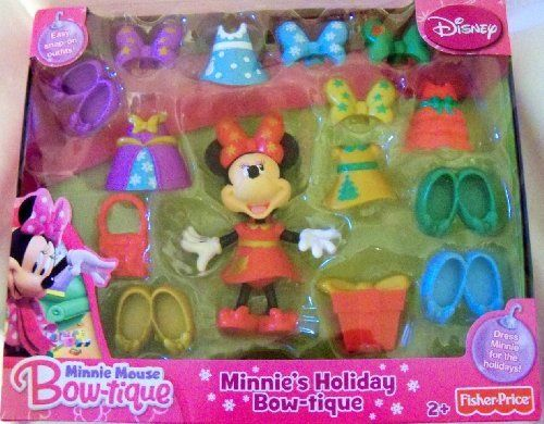 Minnie S Holiday Bow Tique By Fisher Price 30 50 Minnie